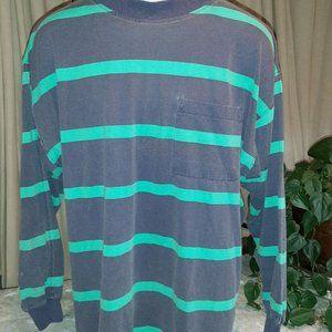 Men's Shirt ~ stripped/ Robert Stock ~LG